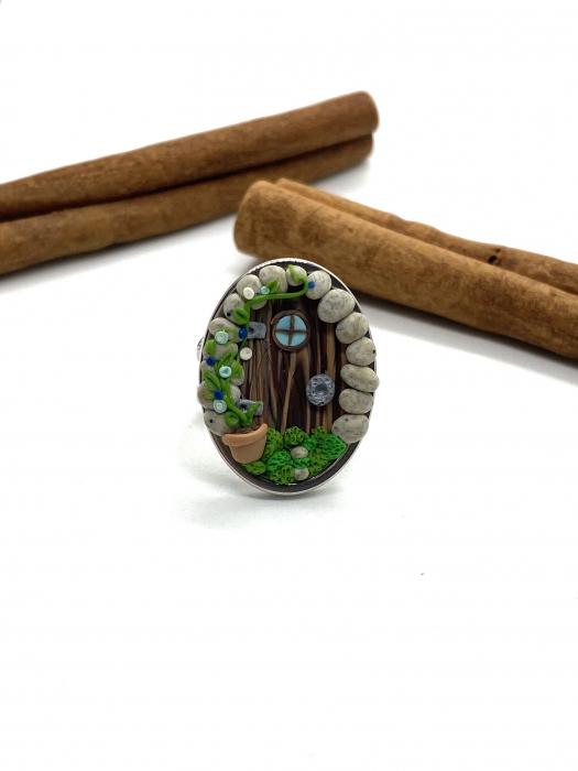 Inel handmade fairy door - cercercei [0]