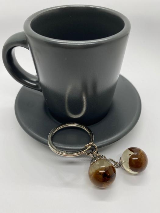 Breloc cu boabe de cafea [4]