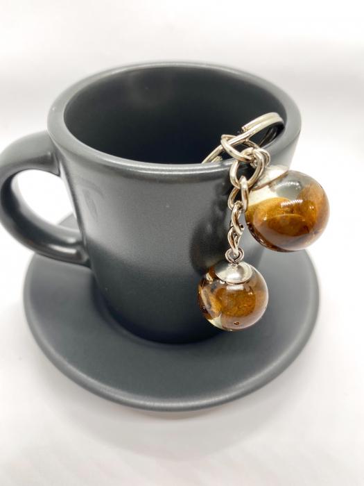 Breloc cu boabe de cafea [3]