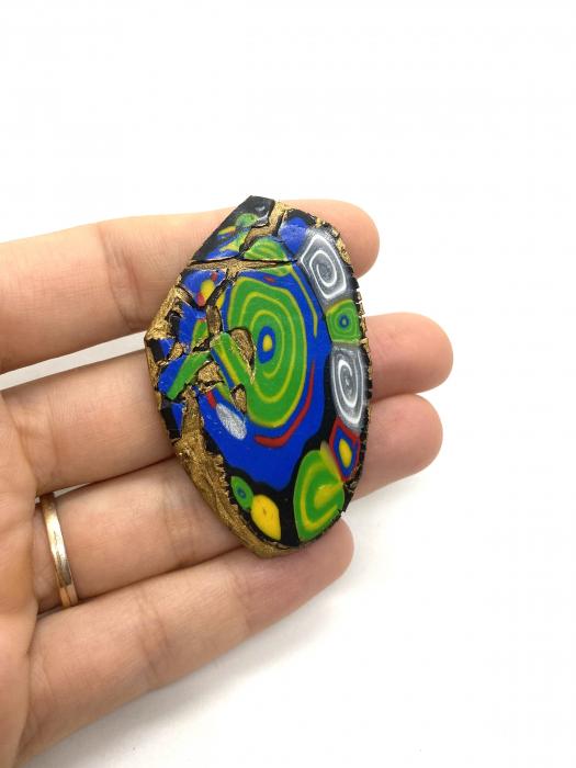 Brosa handmade colorata [2]