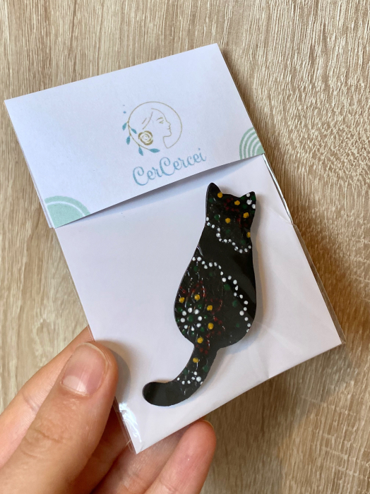 Brosa handmade pisicuta 10