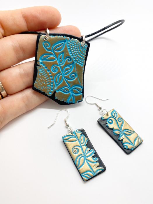 Set de bijuterii boho chic handmade [1]