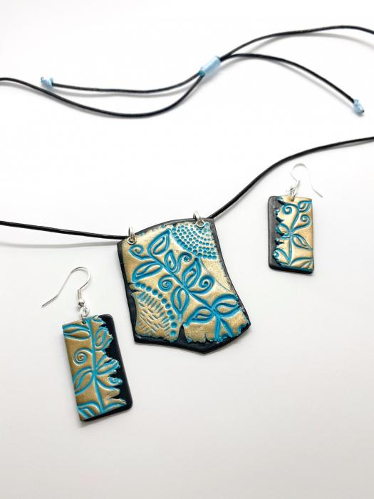 Set de bijuterii boho chic handmade [14]