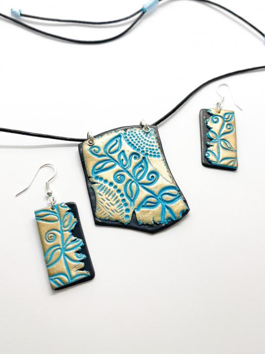 Set de bijuterii boho chic handmade [15]