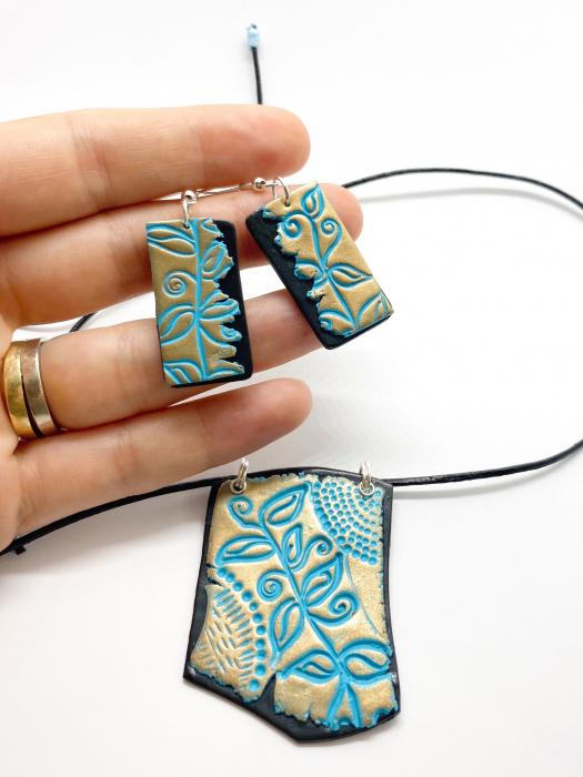 Set de bijuterii boho chic handmade [0]