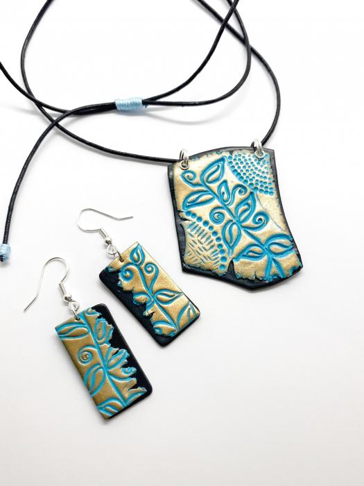 Set de bijuterii boho chic handmade [4]