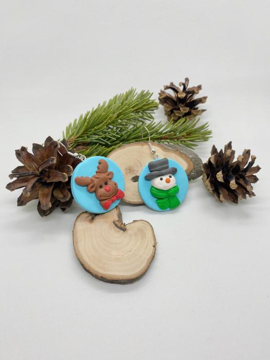 Cercei de iarna- handmade [2]