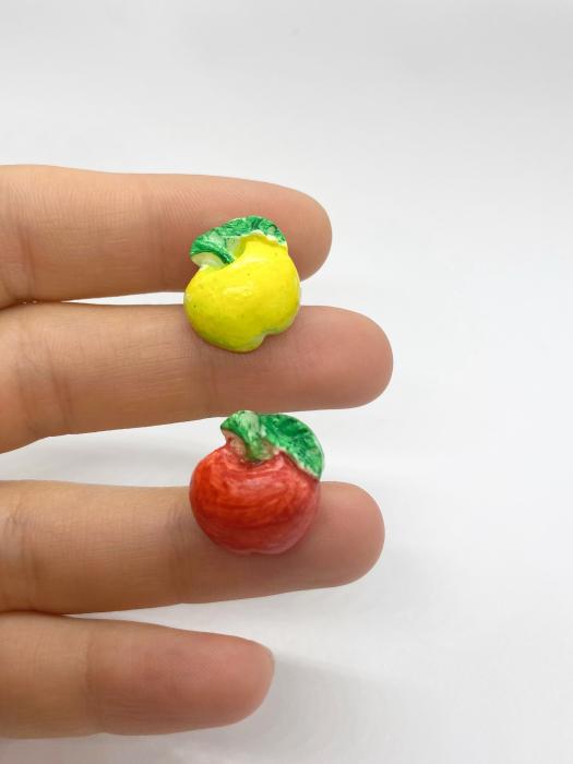 Cercei cu mere cercercei handmade [1]