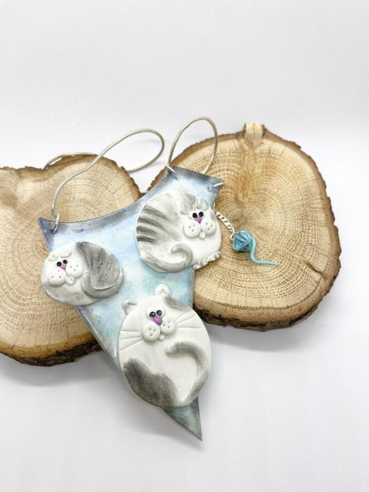Colier cu pisici haioase 4