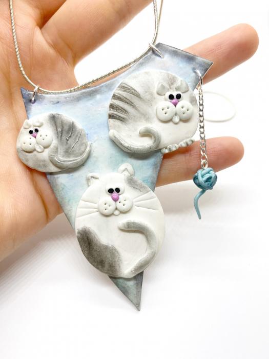 Colier cu pisici haioase [3]