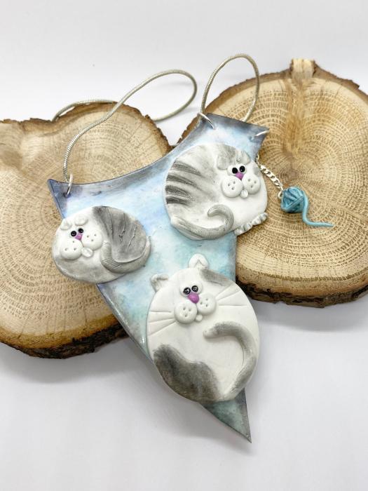 Colier cu pisici haioase 7