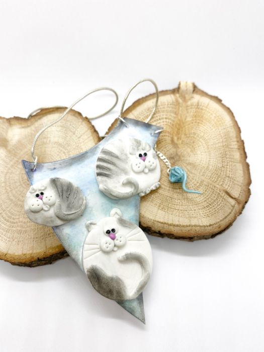 Colier cu pisici haioase 6