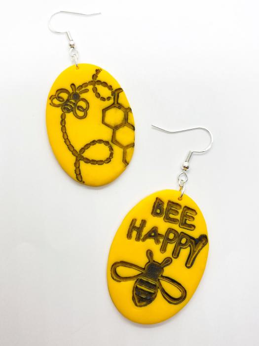 Cercei cu albinute fericite [3]