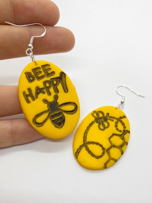 Cercei cu albinute fericite [6]