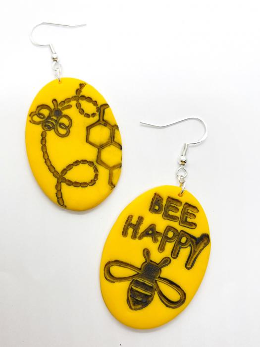 Cercei cu albinute fericite [2]