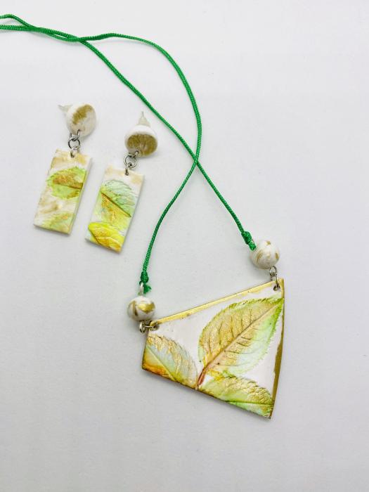 Set de bijuterii handmade cercercei [3]