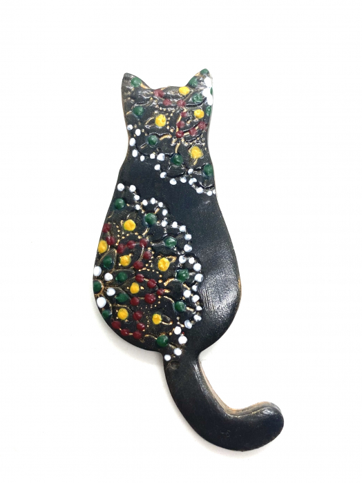 Brosa handmade pisicuta 2