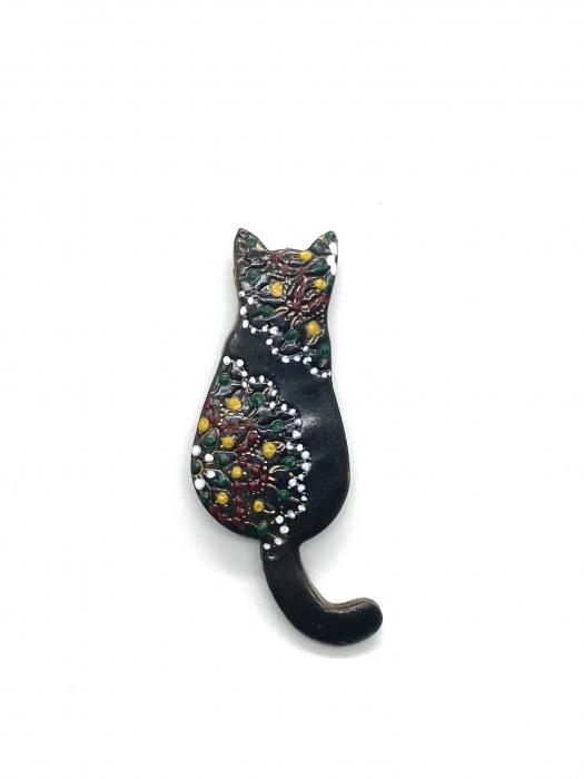 Brosa handmade pisicuta 3