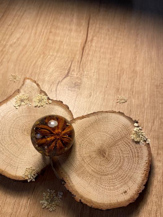 Inel cu anason stelat cercercei 2