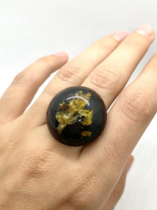 Inel cu licheni - Inel handmade 5