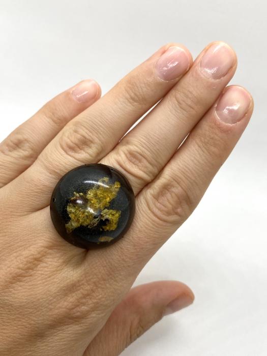 Inel cu licheni - Inel handmade 6