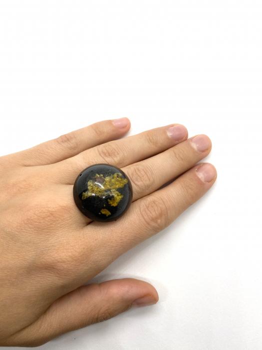 Inel cu licheni - Inel handmade 4