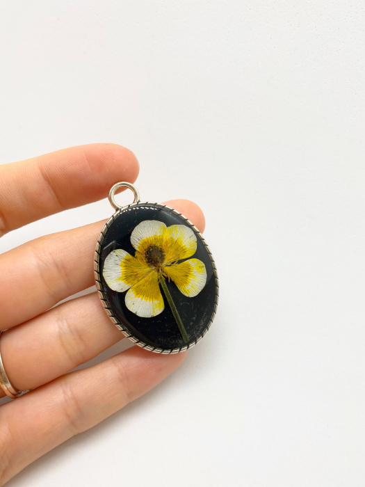 Pandantiv cu floare [2]