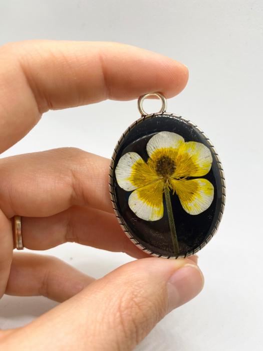Pandantiv cu floare [4]