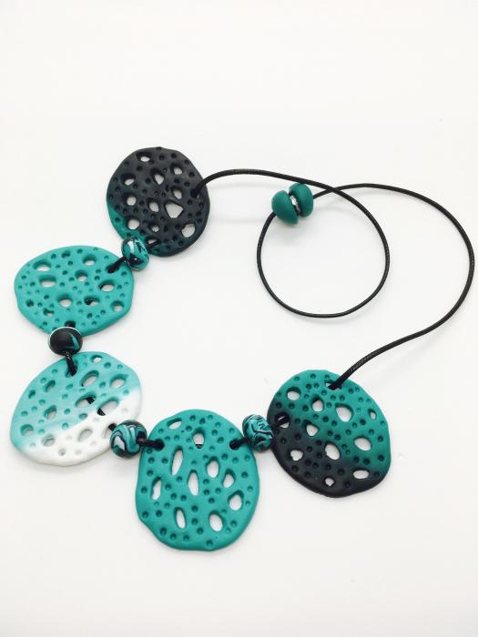 Set de bijuterii turcoaz handmade 5