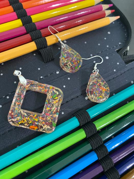 Set de bijuterii cu mina de creion [5]