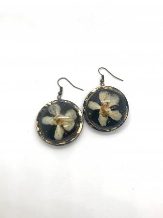 Cercei cu flori de cires - Cercei Handmade [1]
