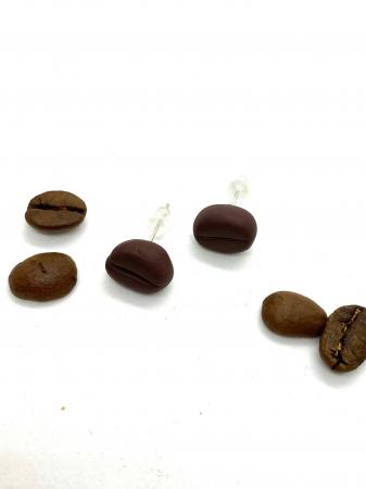 Cercei boabe de cafea0
