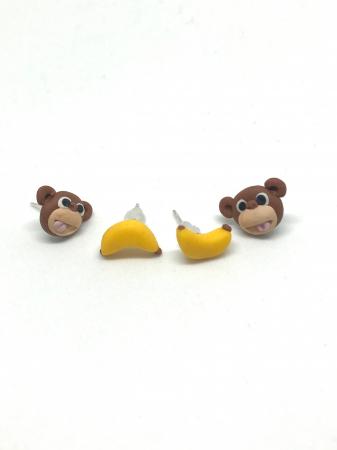 Cercei maimuta fericita - Cercei Handmade [2]