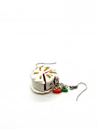 Cercei tort de morcovi cercercei - Cercei Handmade [1]