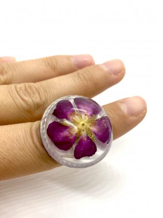Inel cu floare de trandafir salbatic0