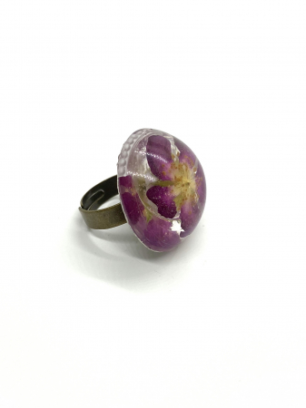 Inel cu floare de trandafir salbatic3