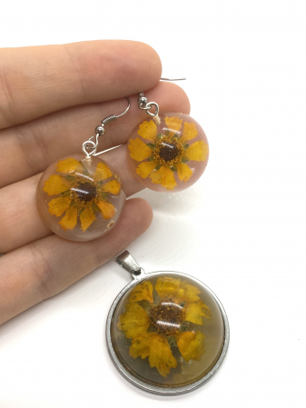 Set de bijuterii cu flori [2]