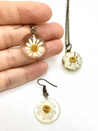 Set de bijuterii cu margarete3