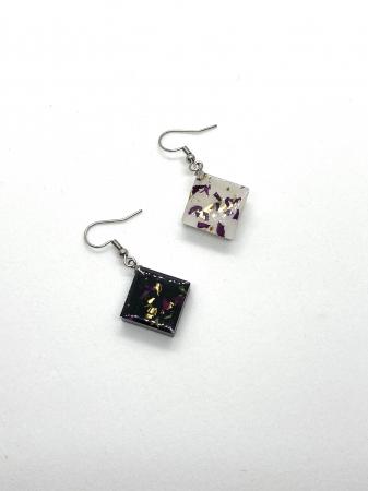 Set de bijuterii cu alb si negru1