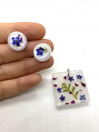 Set bijuterii cu mirute - Set bijuterii handmade [3]