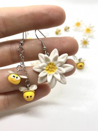 Cercei margarete si albinute cercercei [3]