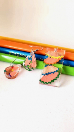 Set creioane colorate reciclate [1]