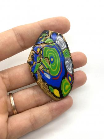Brosa handmade colorata [3]
