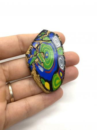Brosa handmade colorata [1]