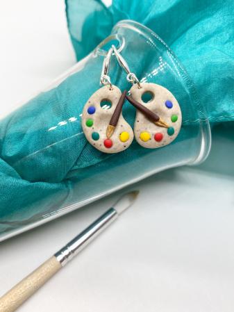 Cercei acuarele handmade [10]
