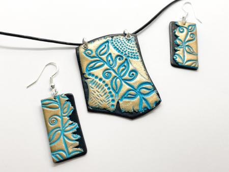 Set de bijuterii boho chic handmade [7]
