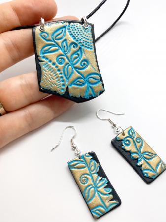 Set de bijuterii boho chic handmade [2]