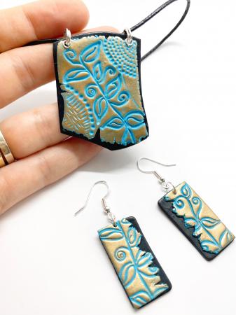 Set de bijuterii boho chic handmade [3]
