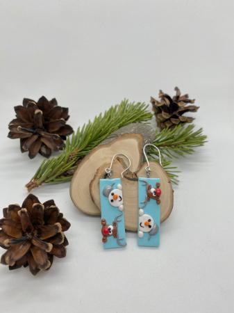 Cercei de iarna- handmade [6]