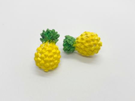 Cercei cu ananas cercercei handmade [2]